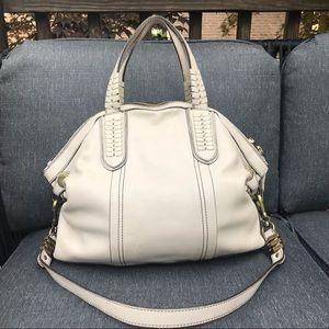 Handbags - Italian leather handbag in EUC